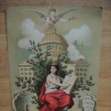 Arte: MUSA - ILUSTRADA POR PLANAS , AÑO 1881. Lote 57628154