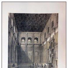 Arte: PARANINFO DE LA UNIVERSIDAD ALCALÁ DE HENARES. VILLA AMIL, G P. 1843. ESPAÑA ARTÍSTICA Y MONUMENTAL. Lote 57647544