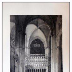 Arte: COSTADO DE LA CAPILLA MAYOR CATEDRAL TOLEDO . VILLA AMIL, G P. 1843. ESPAÑA ARTÍSTICA Y MONUMENTAL. Lote 57647738