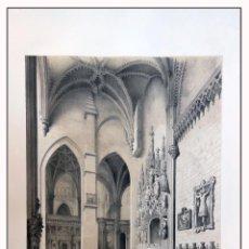 Arte: CAPILLA DE STA ANA EN BURGOS. VILLA AMIL, G P. 1843. ESPAÑA ARTÍSTICA Y MONUMENTAL. Lote 57647992
