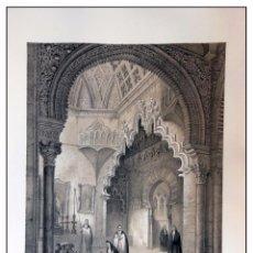 Arte: CAPILLA DE BELÉN EN LAS HUELGAS DE BURGOS.. VILLA AMIL, G P. 1843. ESPAÑA ARTÍSTICA Y MONUMENTAL. Lote 57648100