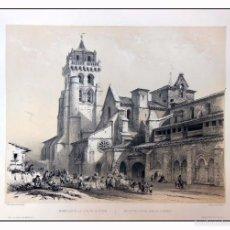 Arte: MONASTERIO DE LAS HUELGAS DE BURGOS. VILLA AMIL, G P. 1843. ESPAÑA ARTÍSTICA Y MONUMENTAL. Lote 57656252