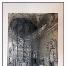 Arte: CAPILLA DEL OBISPO EN LA PARROQUIA DE S ANDRES. VILLA AMIL, G P. 1843. ESPAÑA ARTÍSTICA Y MONUMENTAL. Lote 57657238