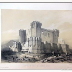Arte: CASTILLO DE COCA. VILLA AMIL, G P. 1843. ESPAÑA ARTÍSTICA Y MONUMENTAL. Lote 57657289