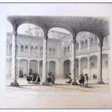 Arte: ABSIDE DE LA CAPILLA MAYOR CATEDRAL BURGOS. VILLA AMIL, G P. 1843. ESPAÑA ARTÍSTICA Y MONUMENTAL. Lote 57675777