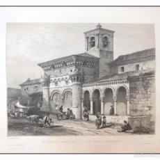 Arte: SAN MIGUEL DE GUADALAJARA. VILLA AMIL, G P. 1843. ESPAÑA ARTÍSTICA Y MONUMENTAL. Lote 57684363