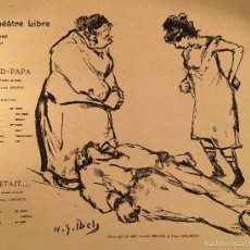 Arte: ART NOUVEAU - HENRI-GABRIEL IBELS (1867-1936) - LITOGRAFIA - 1895. Lote 57761956