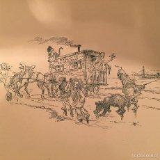 Arte: ART NOUVEAU - ADOLPHE WILLETTE (1857-1926) - LITOGRAFIA - 1895 (01). Lote 57762176
