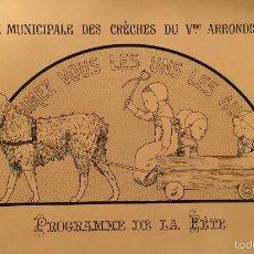 Arte: ART NOUVEAU - LOUIS-MAURICE BOUTET DE MONVEL (1850-1913) - LITOGRAFIA - 1895. Lote 57762620