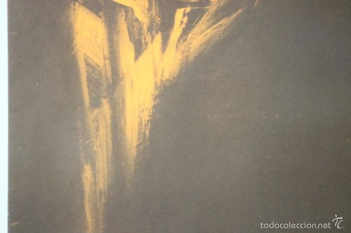 Arte: I3-041. ABSTRACTO. LITOGRAFIA SOBRE PAPEL. FIRMADO Y DEDICADO. VIOLA. SIGLO XX. - Foto 7 - 57767453