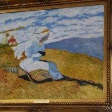 Arte: REPRODUCCION DE LA OBRA DE JOAQUÍN SOROLLA. Lote 57958523