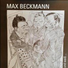 Arte: MAX BECKMANN: CARTEL EXPOSICIÓN BAYREUTH / 2001. Lote 58108685