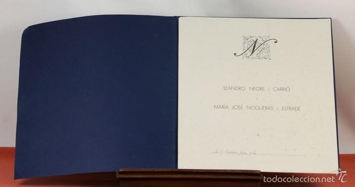 Arte: 7826 - LITOGRAFÍA DE RALF BERNABEI. PUBLICACIÓN BODAS DE PLATA. TALL. SALVATELLA. 1996. - Foto 3 - 58152749
