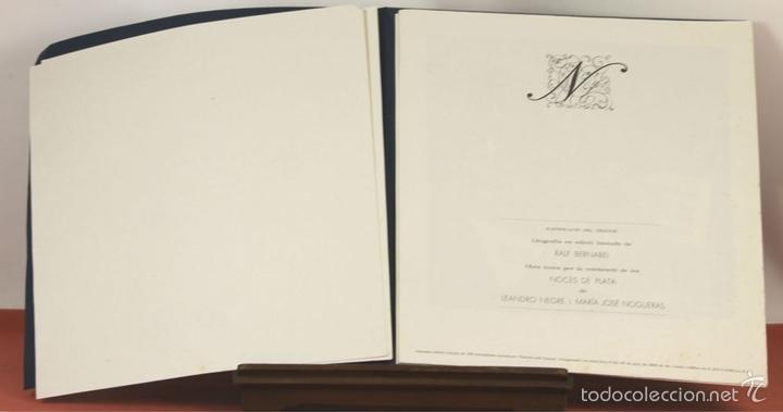 Arte: 7826 - LITOGRAFÍA DE RALF BERNABEI. PUBLICACIÓN BODAS DE PLATA. TALL. SALVATELLA. 1996. - Foto 6 - 58152749