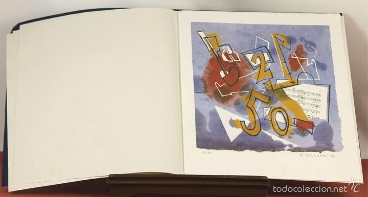 Arte: 7826 - LITOGRAFÍA DE RALF BERNABEI. PUBLICACIÓN BODAS DE PLATA. TALL. SALVATELLA. 1996. - Foto 8 - 58152749