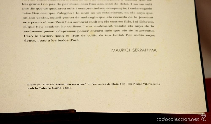Arte: 7826 - LITOGRAFÍA DE RALF BERNABEI. PUBLICACIÓN BODAS DE PLATA. TALL. SALVATELLA. 1996. - Foto 13 - 58152749