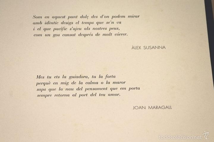 Arte: 7826 - LITOGRAFÍA DE RALF BERNABEI. PUBLICACIÓN BODAS DE PLATA. TALL. SALVATELLA. 1996. - Foto 15 - 58152749