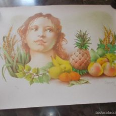 Arte: SUITE 4 LITOGRAFIAS DE GLAUCO CAPOZZOLI. LAS 4 ESTACIONES. Lote 58245807
