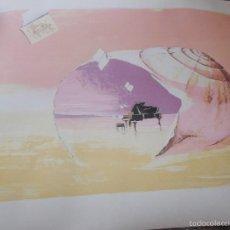 Arte: LITOGRAFÍA SONATA MARINA. Lote 58246226