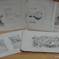 Arte: 20 GRABADOS DE DIFERENTES AUTORES Y TEMATICA. Lote 58246520