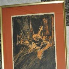 Arte: MANUEL VIOLA , LITOGRAFIA CASIDA DE LA MUJER TENDIDA , AÑO 1964. Lote 58358450