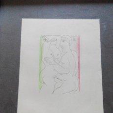 Arte: LITOGRAFIA PICASSO. SUITE EROTICA 1970. Lote 58368830