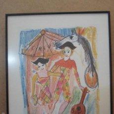 Arte: LITOGRAFÍA FIRMADA Y NUMERADA POR ARTISTA. Lote 58454846