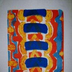 Arte: PAHR-IVERSEN PINTOR NORUEGO 1937 STAVANGER LITOGRAFIA S/T 50X37CM TOTAL 65X 50CM. Lote 58637692