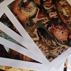 Arte: EL BOSCO: 5 LITOGRAFÍAS EN CARPETA, 55 X 43 CM. Lote 58909310