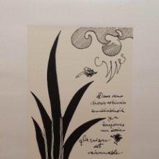 Arte: GEORGE BRAQUE: LA RAISON EST RAISONNABLE, LITOGRAFÍA SOBRE PAPEL ARCHES. Lote 58910675