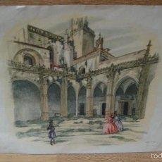 Arte: CARTUJA DE JEREZ - LITOGRAFIA SAENZ DE TEJADA. Lote 59015140