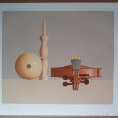 Arte: FREDERIC VIDALENS (CORRÈZE FRANCIA 1925-PARÍS 2004) VIOLIN LITOGRAFÍA 48X60 PAPEL 55X76 FIRMA 84/175. Lote 218255071