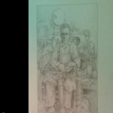 Arte: CARPETA CON 3 LITÓGRAFAS CON LA FIRMA ORIGINAL DEL PINTOR RAFAEL BOLUDA EN CADA UNA.. Lote 60200315