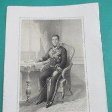 Arte: LITOGRAFÍA SIGLO XIX. ESTADO MAYOR DEL EJÉRCITO ESPAÑOL. FRANCISCO P. . 44,5 X 31 CM.. Lote 60251789