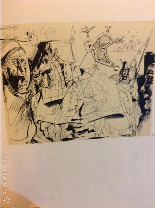 Arte: PICASSO DIBUJOS - GOUACHES - ACUARELAS SALA GASPAR BARCELONA ABRIL 1961 LITOGRAFIA ORIGINAL COMPLETA - Foto 5 - 69923706