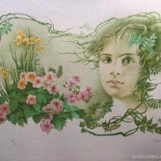 Arte: GLAUCO CAPOZZOLI , LITOGRAFIA NUMERADA Y FIRMADA . Lote 60499035