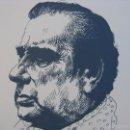 Arte: LITOGRAFÍA DEDICADA A MANOLO CARACOL, FIRMADA A LÁPIZ Y NUMERADA FRANCISCO HERNANDEZ. Lote 60695967