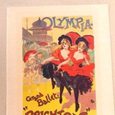 Arte: LES MAITRES DE L'AFFICHE - OLYMPIA - PAL - 1899. Lote 61252739