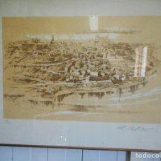 Arte: LITOGRAFIA DEL PINTOR MANUEL MAYORAL NUMERADA Y FIRMADA POR EL ARTISTA. Lote 61457783