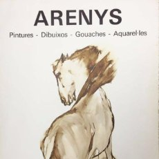 Arte: ARENYS, CARTEL EXPOSICIÓN SALA GASPAR.1978. Lote 62590956