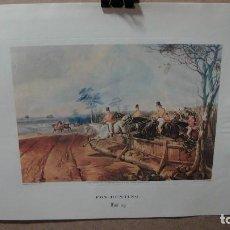 Arte: ESCENA DE CAZA - EDICION ACTUAL. Lote 62680632