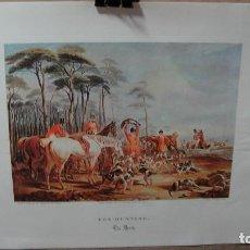 Arte: ESCENA DE CAZA - EDICION ACTUAL. Lote 62680668