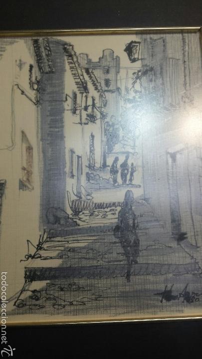 LITOGRAFÍA ORIGINAL DE AUTOR (Arte - Litografías)
