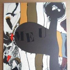 Arte: JOSEP GUINOVART (BARCELONA 1927-2007) EL MEU CARRER: LITOGRAFÍA 1976 DE 56X75 FIRMADA Y 50/75. Lote 54906817