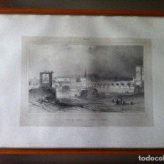 Arte: NICOLAS CHAPUY, PUENTE DE CORDOBA 1844. Lote 65923026