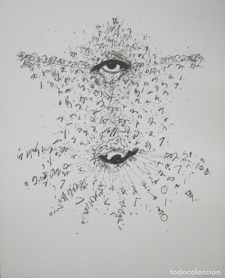 ZUSH-EVRU . PORTA, ALBERTO (BARCELONA, 1946). (Arte - Litografías)