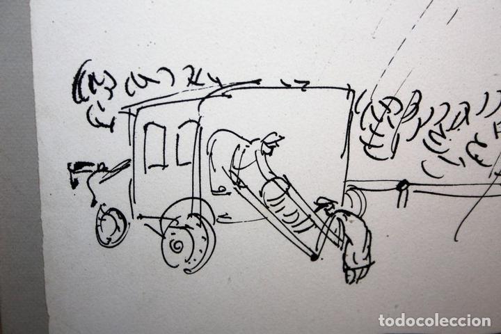 Arte: J2-041. EL ACCIDENTE. CHARLES LAPICQUE (1898-1988). LITOGRAFÍA EN NEGRO. FRANCIA. 1950 - Foto 3 - 66841630