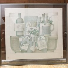 Arte: FRANCESC TODÓ , BUENA LITOGRAFIA FIRMADA , NUMERADA 87/99 Y ENMARCADA. Lote 66870798