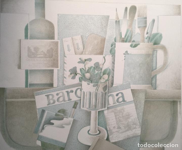 Arte: FRANCESC TODÓ , BUENA LITOGRAFIA FIRMADA , NUMERADA 87/99 Y ENMARCADA - Foto 2 - 66870798