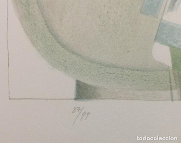 Arte: FRANCESC TODÓ , BUENA LITOGRAFIA FIRMADA , NUMERADA 87/99 Y ENMARCADA - Foto 3 - 66870798
